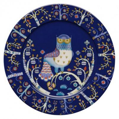 Taika, Plat bord 30cm Blauw