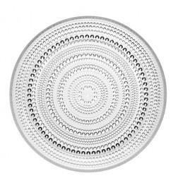 Kastehelmi, Plat bord 25cm, helder