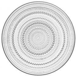 Kastehelmi, Plat bord 31,5cm, helder