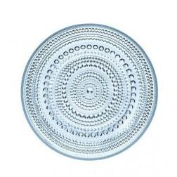 Kastehelmi, Plat bord 17cm Lichtblauw