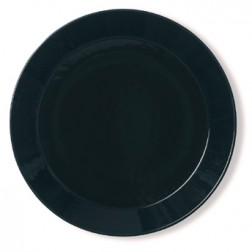 Teema Zwart plat bord 21cm