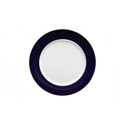 Sunny Day Cobalt, Plat bord 27cm