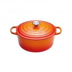 Signature Braadpan 24cm 4,2L Oranje-Rood