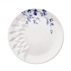 Blauw Vouw,Ontbijtbord 21cm