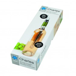 Wijnkoeler en -schenker Charles
