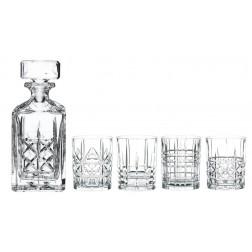 Highland 5-delige whiskyset met karaf