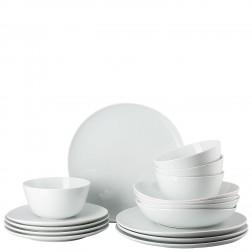 Junto White 16-delige 4-persoons set