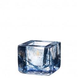 Brick Waxinelichthouder blauw