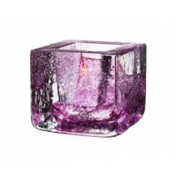 Brick Waxinelichthouder paars