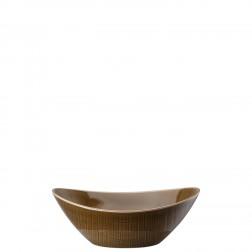 Mesh Walnut Ovale schaal diep 20cm