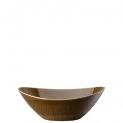 Mesh Walnut Ovale schaal diep 24cm
