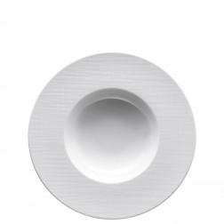 Mesh White Diep bord 28cm m.rand