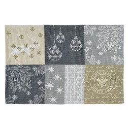 Sander placemat 32x48cm Northern Stars kerstdecor