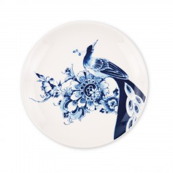 Peacock Symphony, Plat bord coupe 21,5cm