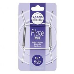 Bordenklem/Plate hanger 13-19cm