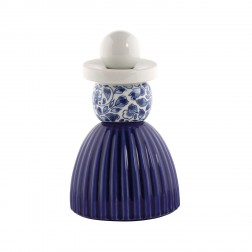 Royal Delft Proud Mary Nr.3 Cobalt Flower Pattern