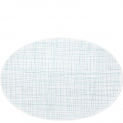 Mesh, Ovale schotel 42cm Line Aqua