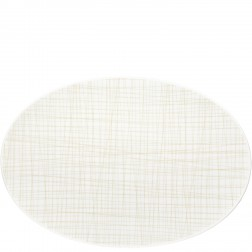 Mesh, Ovale schotel 42cm Line Cream
