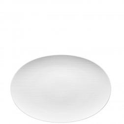 Mesh, Ovale schotel 42cm wit