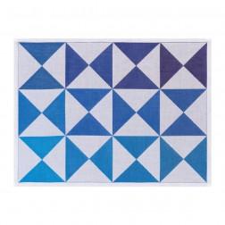 Origami placemat 48x36cm Encre-Ink, 100% katoen