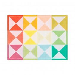 Origami placemat 48x36cm Multico, 100% katoen