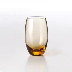 Solid Color Drinkglas 0,40L Amber