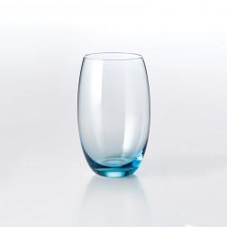 Solid Color Drinkglas 0,40L Aqua