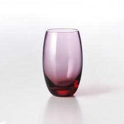 Solid Color Drinkglas 0,40L Bordeaux