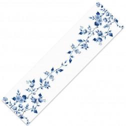Tafelloper met bloem 160x40cm