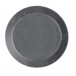 Teema Dotted Grey plat bord 21cm