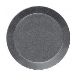 Teema Dotted grey plat bord 26cm