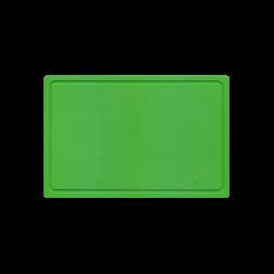 Kunststof snijplank groen flexibel 38x25cm