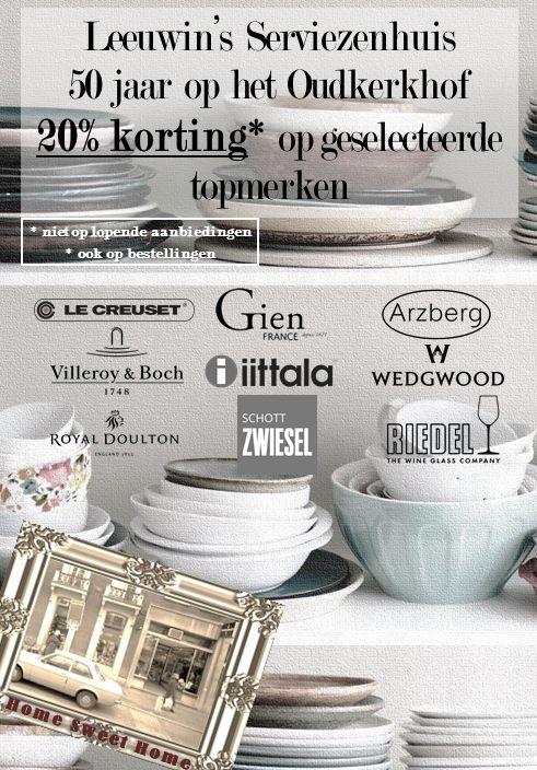 50 jaar op het Oudkerkhof: nu 20% korting op veel merken!