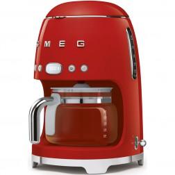 SMEG koffiezetter Rood