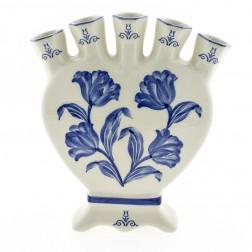 Tulpenvaas hartvormig blauwe tulp