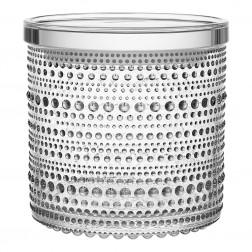 Voorraadpot, H11,4cm Kastehelmi helder