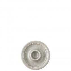 Trend Moon Grey eierdop met brede rand