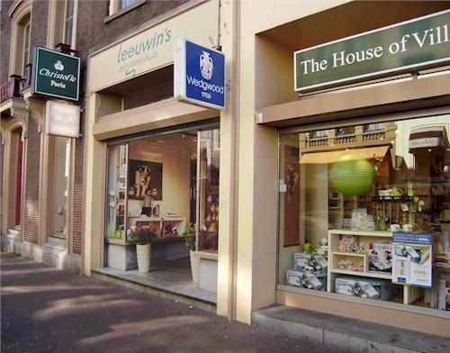 Onze winkel aan het Oudkerkhof in Utrecht